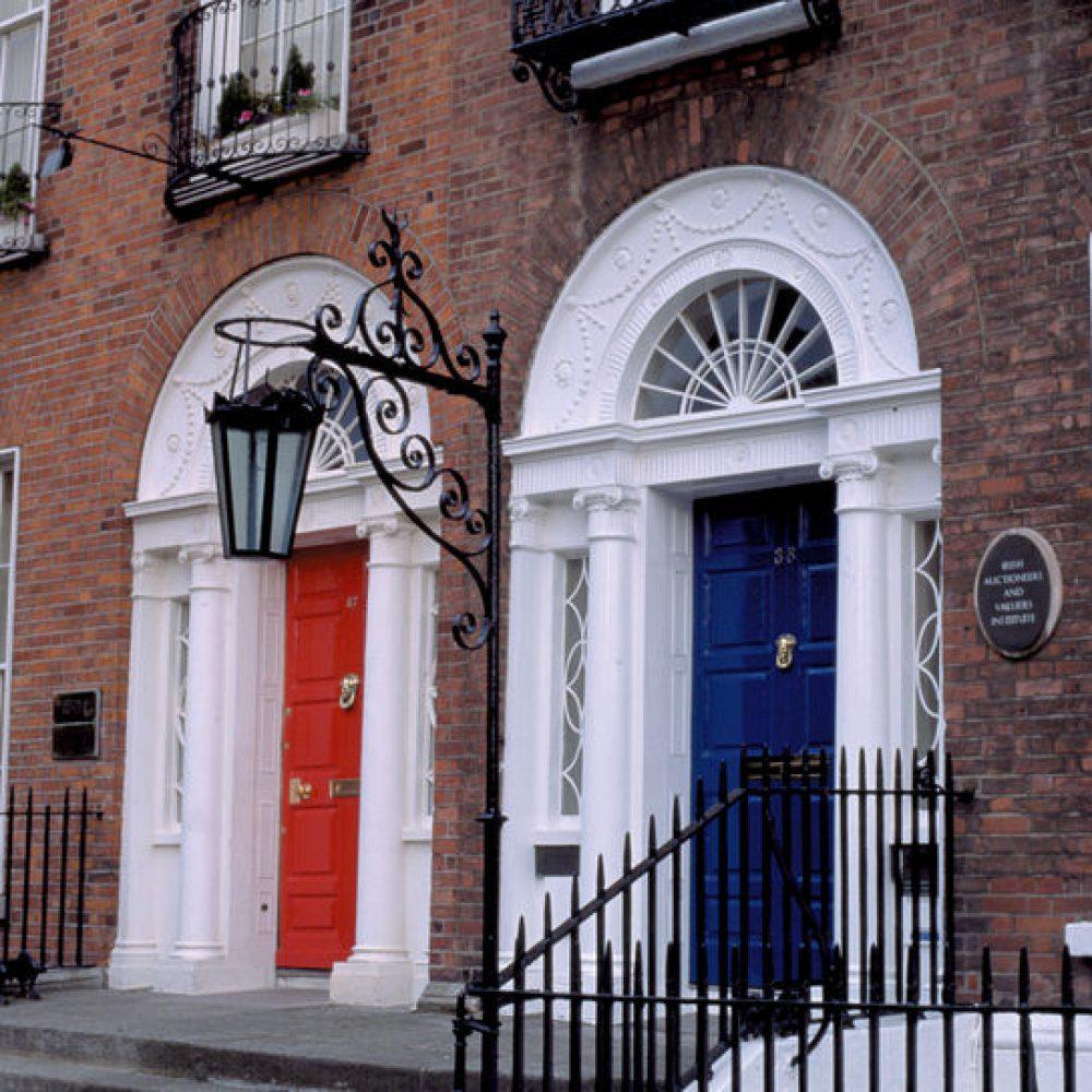Türen in Dublin